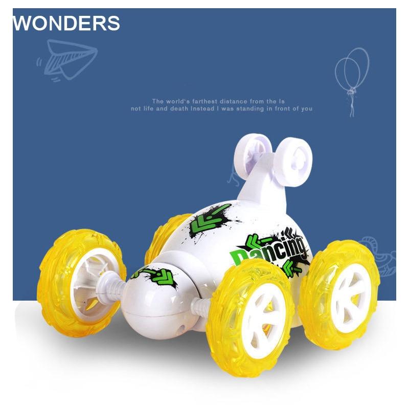 Mini Rc Car Remote Control Toys Stunt Car Electric Dancing Dump Car Drift Model Educational Motor Toy Fernbedienung Spielzeug Free Shipping Rc-autos