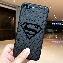 Marvel DC Comics Heros Collection Soft silicone cover for Case iphone x 10 xs max xr 6s 7 8 6 Plus Capinhas Batman Iroman Spider 3