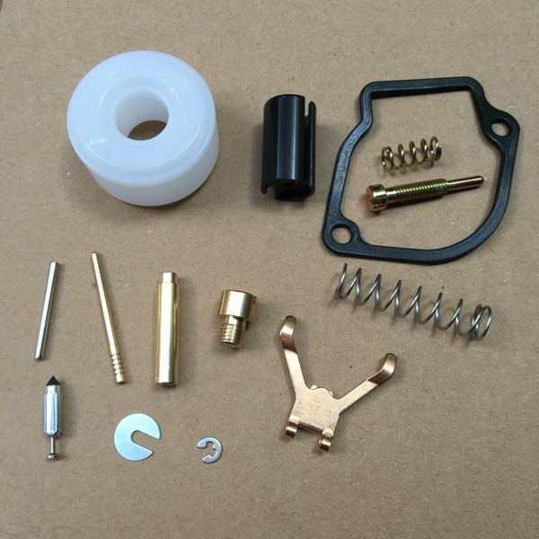 US $10 19 35% OFF TD40 CARB REBUILD KIT FOR KAAZ Kawasaki TD33 TD43 TRIMMER  FLOAT valve PIN SEAL JET needle valve spring CARBURETOR REPAIR SET-in Tool
