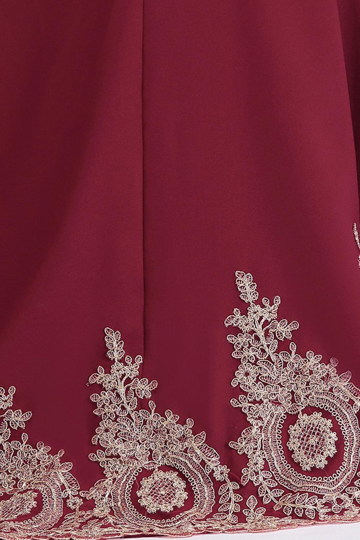 HTB1YOLeeN6I8KJjy0Fgq6xXzVXaBPlus size Evening Dress Burgundy Formal Gown