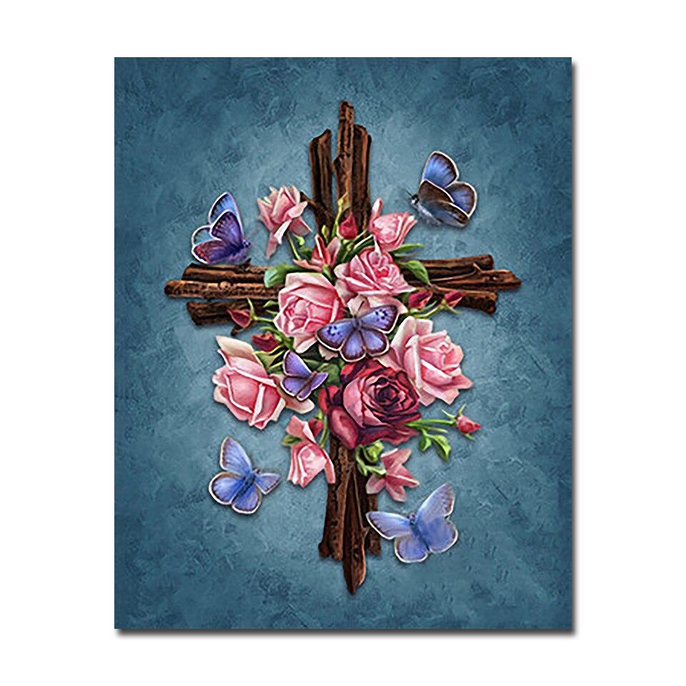 Compra cross oil painting y disfruta del envío gratuito en ...