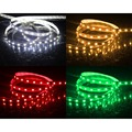 SMD 5050 DC 12V led strip flexible light 5M 60leds/m Non-Waterproof led light 500cm 300leds Green Red White Warm white RGB