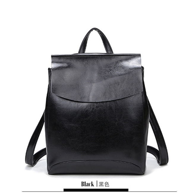 ФОТО New 2016 100% Real Soft Genuine Leather Women Backpack Woman Korean Style Ladies Strap Laptop Bag Daily Backpack Girl School