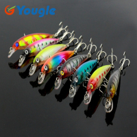 8pcs Minnow Fishing Lures Bass Crankbait Fishing Tackle 8 5cm 7 2g MI034