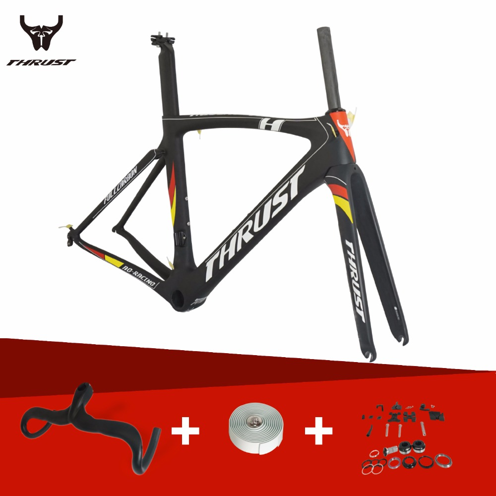 Factory Directly Sale Nice Carbon Road Frame Thrust Chinese Carbon Frames Super Light Aero Design Carbon