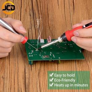 Image 5 - JCD Electric LCD Soldering Iron 220V 110V 80W Adjustable Temperature solder welding rework Repair tools soldering iron kit&tips
