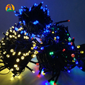 Solar Christmas Lights 4.8M-22M LED Solar Fairy String Light for Outdoor Gardens Homes Wedding Christmas Party,Waterproof