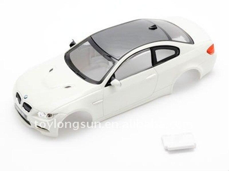 ABS 1/28 Scale Mini RC Car Body Shell 4WD Drift Car Part