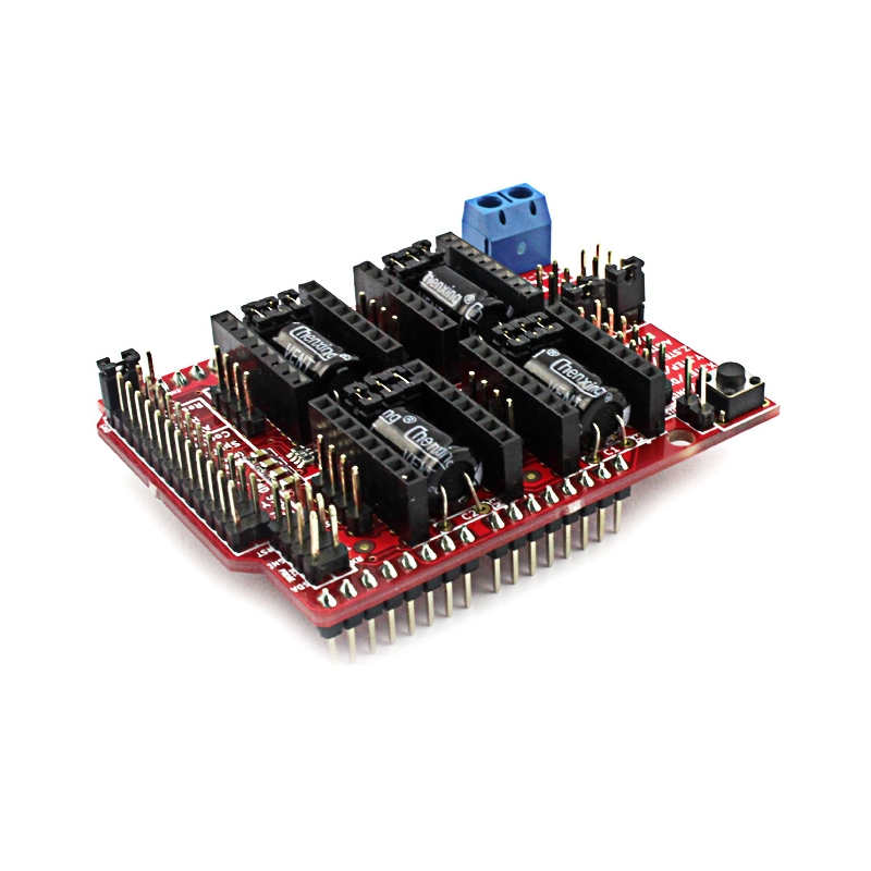 Elecrow CNC Shield V3 51 for Arduino 3D Printer Development Board Micro  Controllers GRBL v0 9 Compatible Uses Pololu Drivers