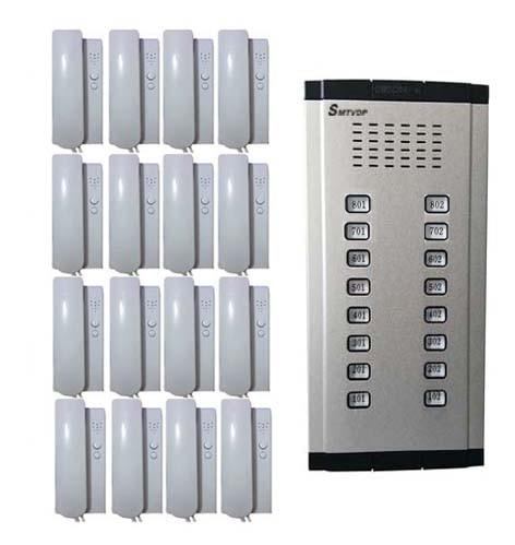 Original Home Security Direkt Drücken Sie Die Taste Audio Tür Telefon Für 16 Wohnungen Türsprechstelle 2-wired Audio Intercom System Auf Lager