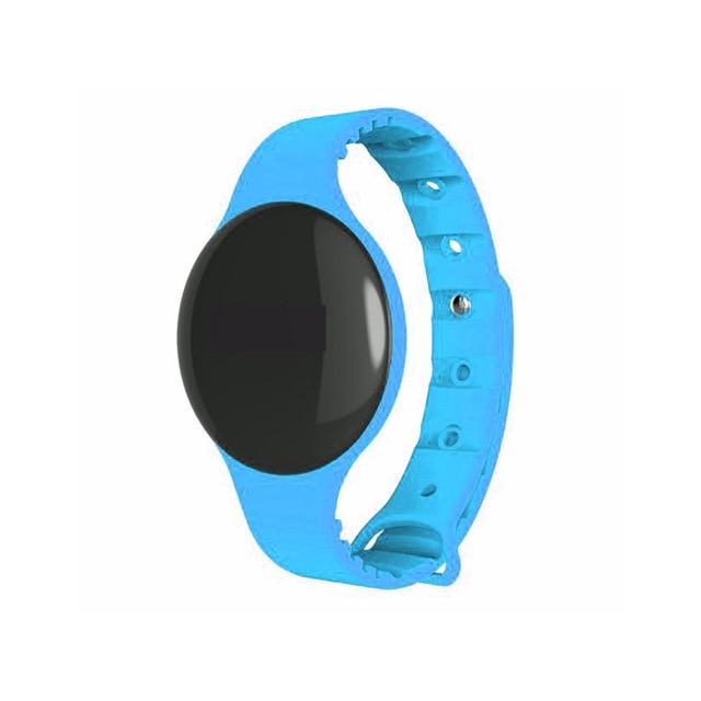 BUMVOR Bluetooth 4.0 Necklace Step Counter Sport Activity Fitness NOTracker Smart Band Bracelet Wristband H8
