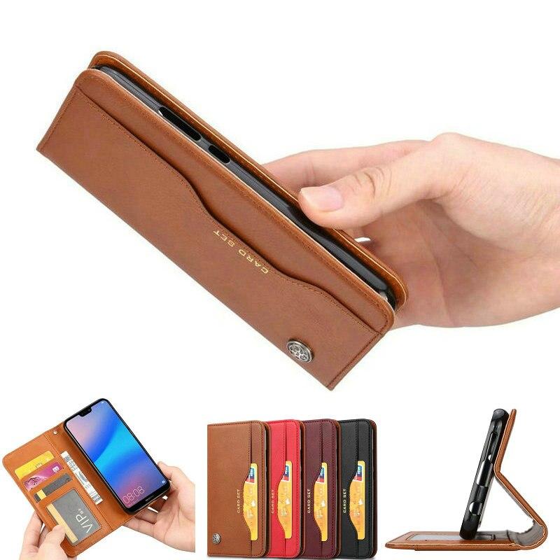 Huawei Nova 3i Caso Luxuoso Do Vintage Da Aleta Suporte Magnético Wallet PU Couro Da Pele Para O Huawei Nova 3 3i 4 Telefone fundas Casos Capas