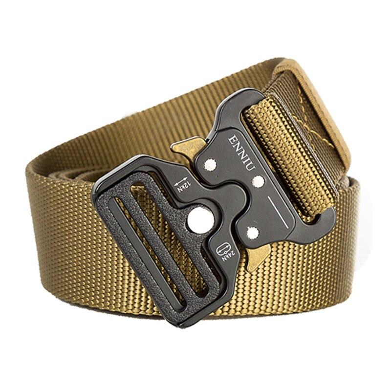 Hot High Qualtiy Men Military Equipment Army Belt Men Outdoor Training Belt Soldier Combat Tactical Belts 100% Nylon Waist Strap