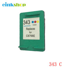 For HP 343 Ink Cartridge DeskJet 5740 5743 5745 5748 6520 6540 6548 6840 6620 PSC 1510 1513 2355 1500 1600 1610