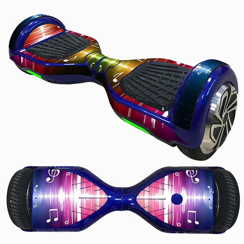 6.5 Inch Cycling Electric Scooter Sticker Hoverboard Gyroscooter Sticker Two Wheel-Self Balancing Scooter hover Board