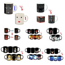 ¡ Promoción! cambio de color tazas de calor reactiva tazas de café taza de cerámica de super saiyan goku mañana taza para el regalo del amigo