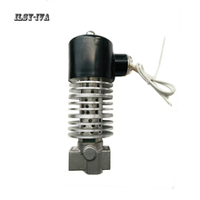 цена на G1 DC24V Stainless steel heat transfer oil steam high temperature solenoid valve