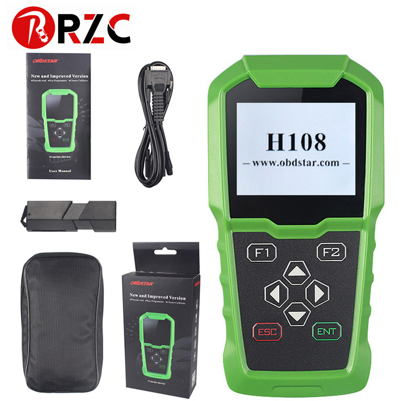 OBDSTAR H108 PSA Programmer Support All Key Lost Programming/Pin Code Reading/Cluster Calibrate for Peugeot forCitroen H108-in Car Diagnostic Cables & Connectors from Automobiles & Motorcycles    1