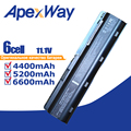 11,1 V Батарея для hp павильон MU06 G6 DV3 DM4 DV6 DV7 G4 G7 635 для Compaq CQ42 CQ72 MU09 593554-001 593553-001 аккумулятор большой емкости - фото