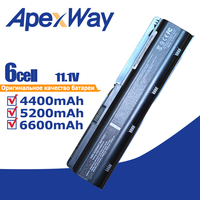 11.1V Battery for HP Pavilion MU06 G6 DV3 DM4 DV6 DV7 G4 G7 635 for Compaq Presario CQ42 CQ72 MU09 593554-001 593553-001