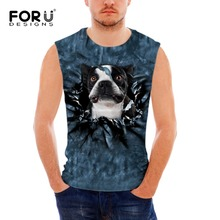 FORUDESIGNS 2018 Men Boy Body Layer Sleeveless 3d Summer Vest Thermal Under Top Tees Tank Tops Fitness Tights High Flexibility