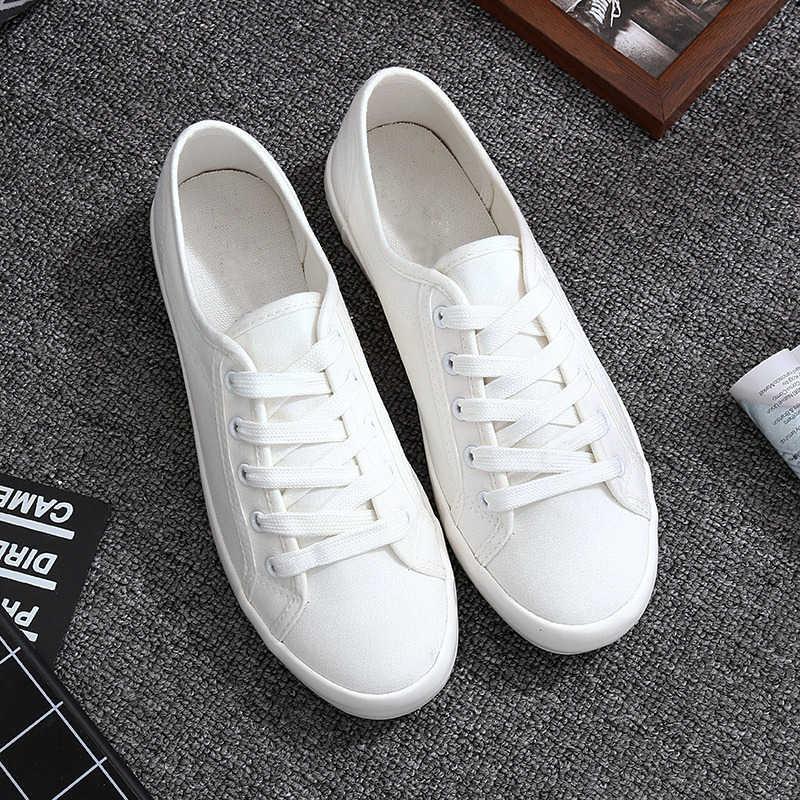 ฤดูร้อนรองเท้าผ้าใบสตรีสุภาพสตรีรองเท้าผ้าใบสีขาวรองเท้าคลาสสิก Tenis Feminino Casual Zapatillas Mujer Vulcanize รองเท้า