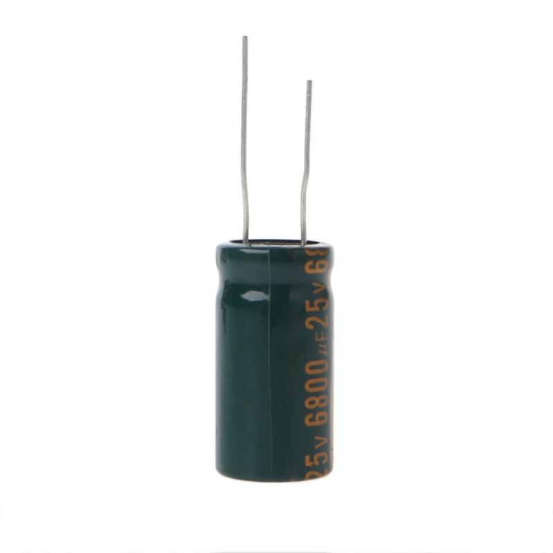 25V 6800uF Capacitance Electrolytic Radial Capacitor High Frequency Low ESR Dropship