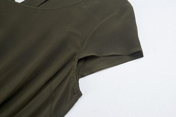 Robe 100 Robes D'été Puresilk Soie Beauté Pièce 43 30 Femmes Dame D'une De Seule 16 03 Mûrier 39 Crêpe rqfw1WtPr