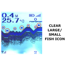 FF718Lic-W LUCKY Color Screen Fish Finder Wireless Fish Finder Rechargeable Battery 100m Operational Range Waterproof