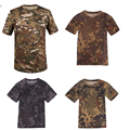 High quality 2016 Python pattern combat shirt tactical T-shirt  movement quick-drying breathable casual UV resistant tops