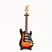 MoonEmbassy Electric Guitar Model Bass Miniature Display Model Realistic Music Lover Gift