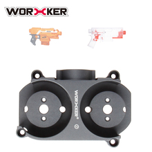 Worker Flywheel Cage 425 for Nerf Stryfe/for Worker Swordfish Blaster - Titanium Color