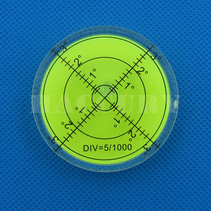 HACCURY 60 * 12mm Circular Bubble Level Spirit Level Round Bubble - Měřicí přístroje - Fotografie 4