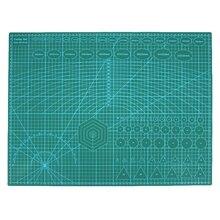 A2 ПВХ двойной напечатанный самовосhealing вающийся режущий мат крафт Квилтинг, скрапбукинг 60x45 см Лоскутная Ткань Бумага Ремесло Инструменты