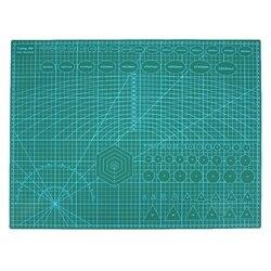 A2 mata do cięcia z pcv podkładka Patchwork dwustronna samolecznicza drukowana Craft pikowanie scrapbooking Board 60x45 Cm papier tekstylny hot