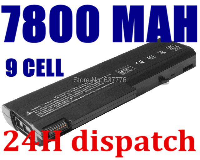 Batería del ordenador portátil para hp probook 6550b probook 6555b para hp compaq business notebook 6530b 6535b 6730b 6735b 5200 mah 9 celdas