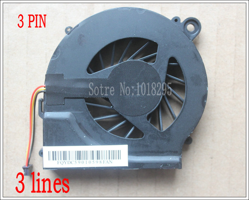 New & Original Cooler CPU Fan for HP Pavilion G6  G4t G6t G7t CQ56 G56 Q72C HSTNN-Q72C G4-1017TU Laptop 646578-001 KSB06105HA new original cpu fan for hp g4 2000 g6 2000 g7 2240us g7 2000 g6 2278dx 683193 001 685477 001 4pins brand new and original