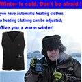 "hot sale 2016 New Mens  ""Adjustable size"" Omni-Heat/Tech Parka Winter cold Jacket Coat"