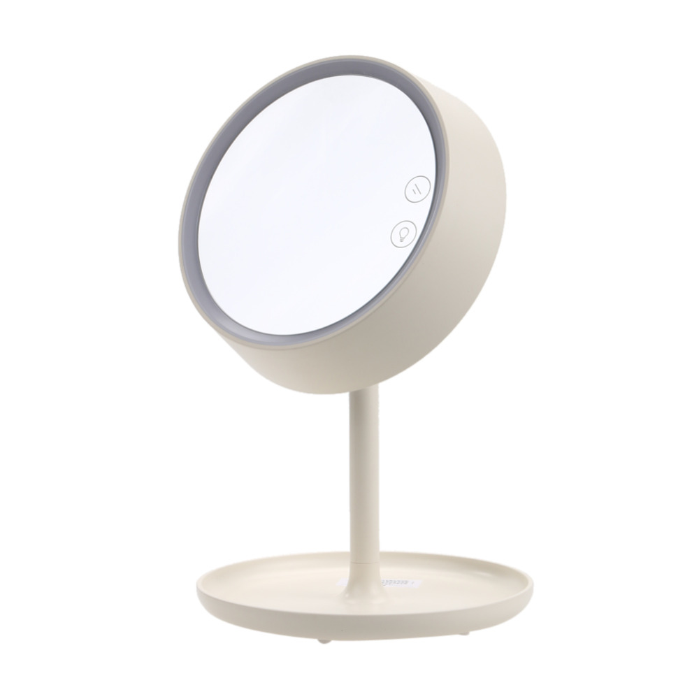Cosmetic Mirror Stool Bedroom Furniture Dressing Gift USB Charging Makeup Mirror with Light Table Stand Mirror bedroom home furniture dresser table with 2 drawers mirror and stool neoclassical style kd packaged wooden carved materials