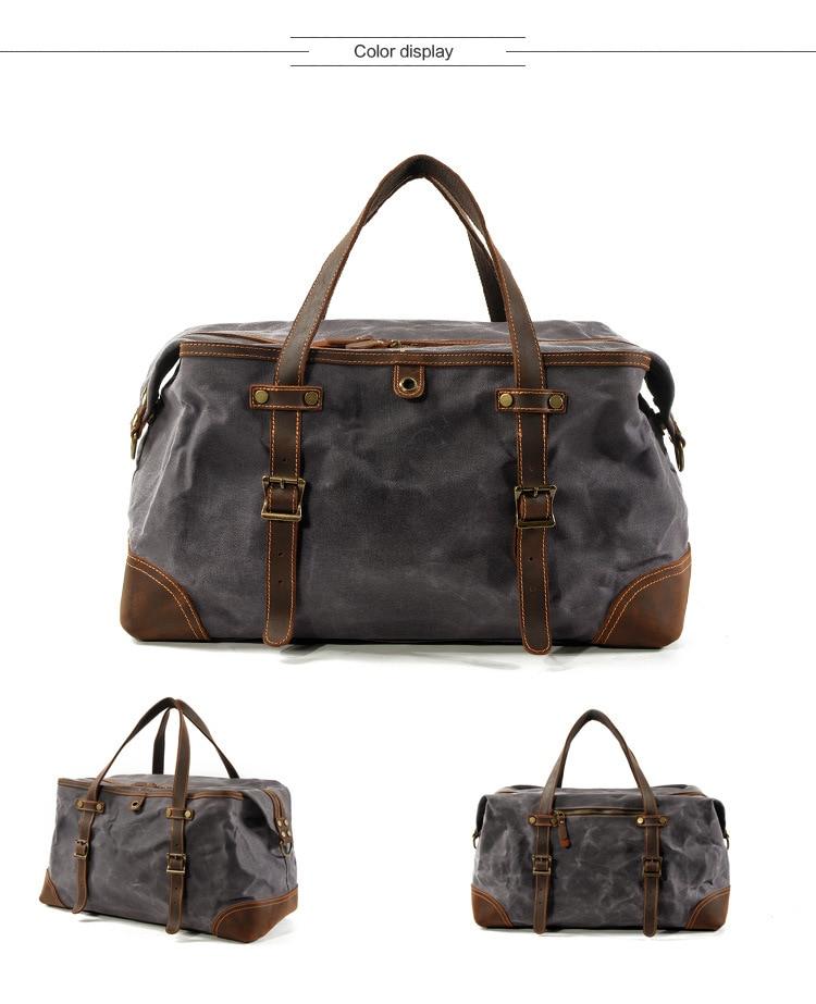 satchel duffle bag from Eiken