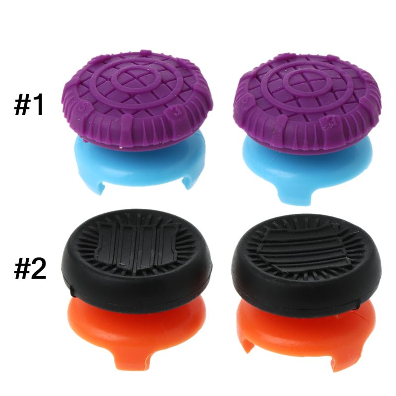 1 Pair Thumbstick Cover Caps Thumb Grip Joystick Game Accessories for XBOX One Console Controller