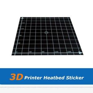 3D принтер части тепла горячие наклейки для кровати с 3M лентой 220 мм 300 мм квадратной печати сборки пластины ленты