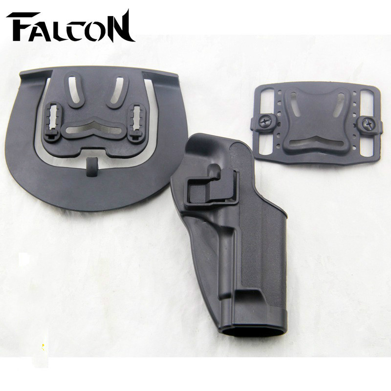 Tactical Military Combat Hunting Pistol Right Hand Holster