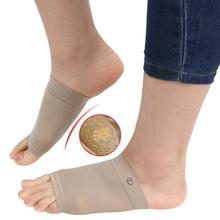 wholesale Silicone Plantar Fasciitis Arch Support Flat Feet Orthopedic Pad Foot Brace Orthotic Bunion Adjuster