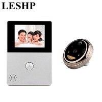 LESHP 2 8 Inch LCD Wifi Peephole Wireless APP Smart Video Doorbell Night Vision HD Camera