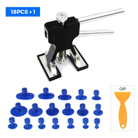 Car Body Hail Glue Puller PDR Tabs Hail Removal Lifter Paintless Removal Dent Repair Tool Set PDR Tools Auto Dent Removal