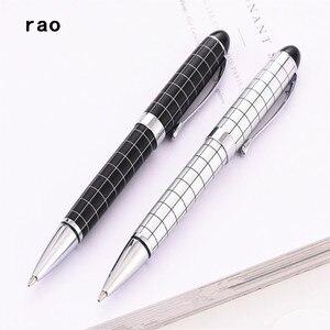 Baoer 79 белая черная леска, студент, школа, офис, канцелярские принадлежности, шариковая ручка среднего размера