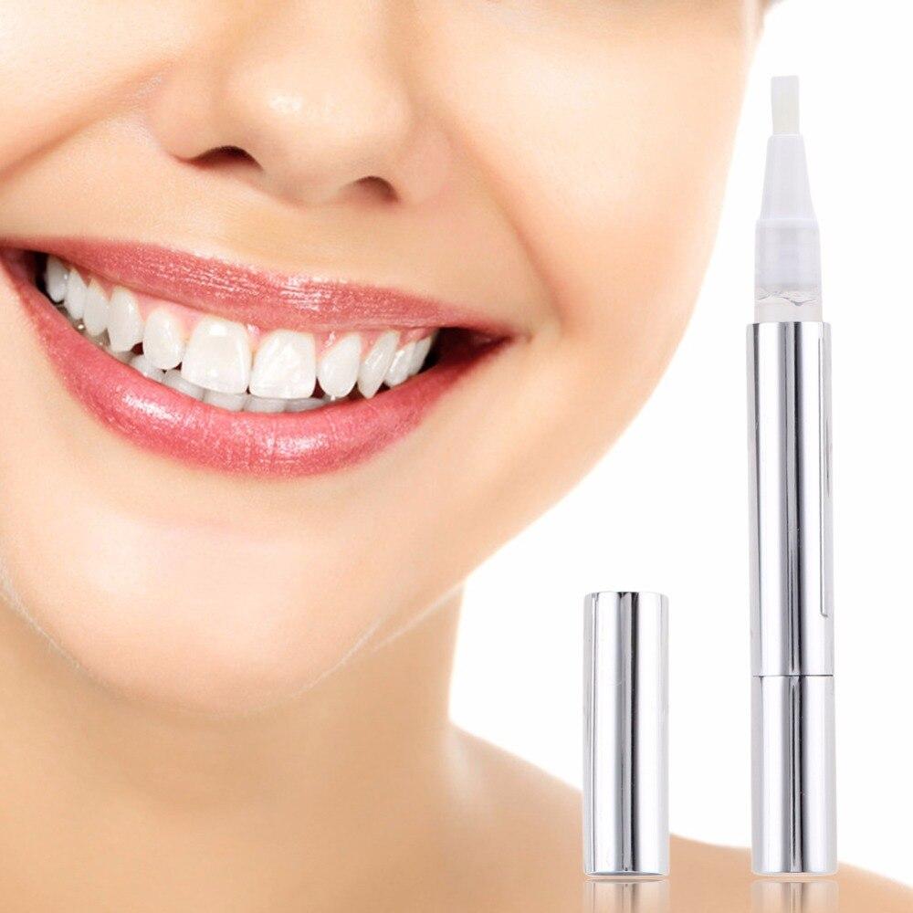 2 Pcs Dentes Branqueamento Caneta Gel Clareador De Dente Oral Care