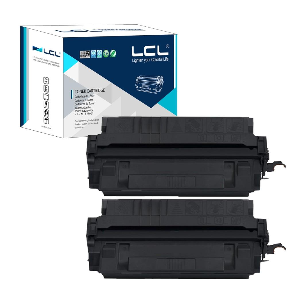 ФОТО LCL 29X C4129X (2-Pack Black) Toner Cartridge Compatible for HP LaserJet 5000/5000g/5000GN/5000LE/5100/5100DTN/5100TN