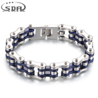 Top Quality Men S Motor Bike Chain Motorcycle Chain Bracelet Bangle 316L Stainless Steel Jewelry Punk